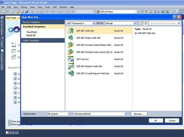 crystal report tutorial in c windows application