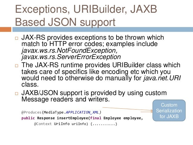 sample jax rs application download
