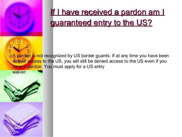 pardon application government of canada