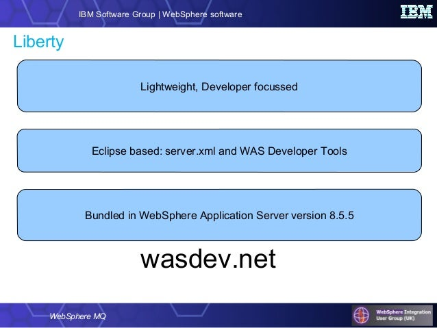 ibm websphere application server liberty profile developer tools for eclipse