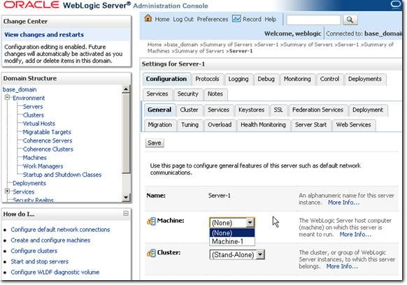 deploy application in weblogic srver