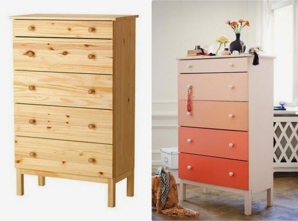 dessin appliquer de bois sur armoire