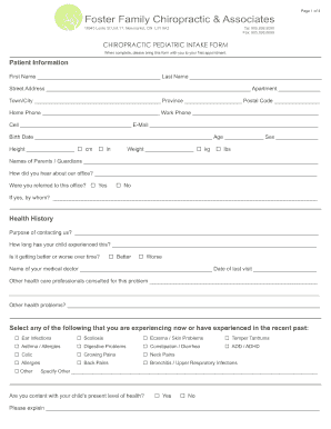 please bring your complete application form