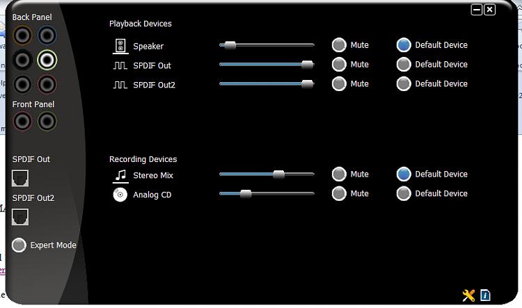 via hd audio deck vdeck exe application error