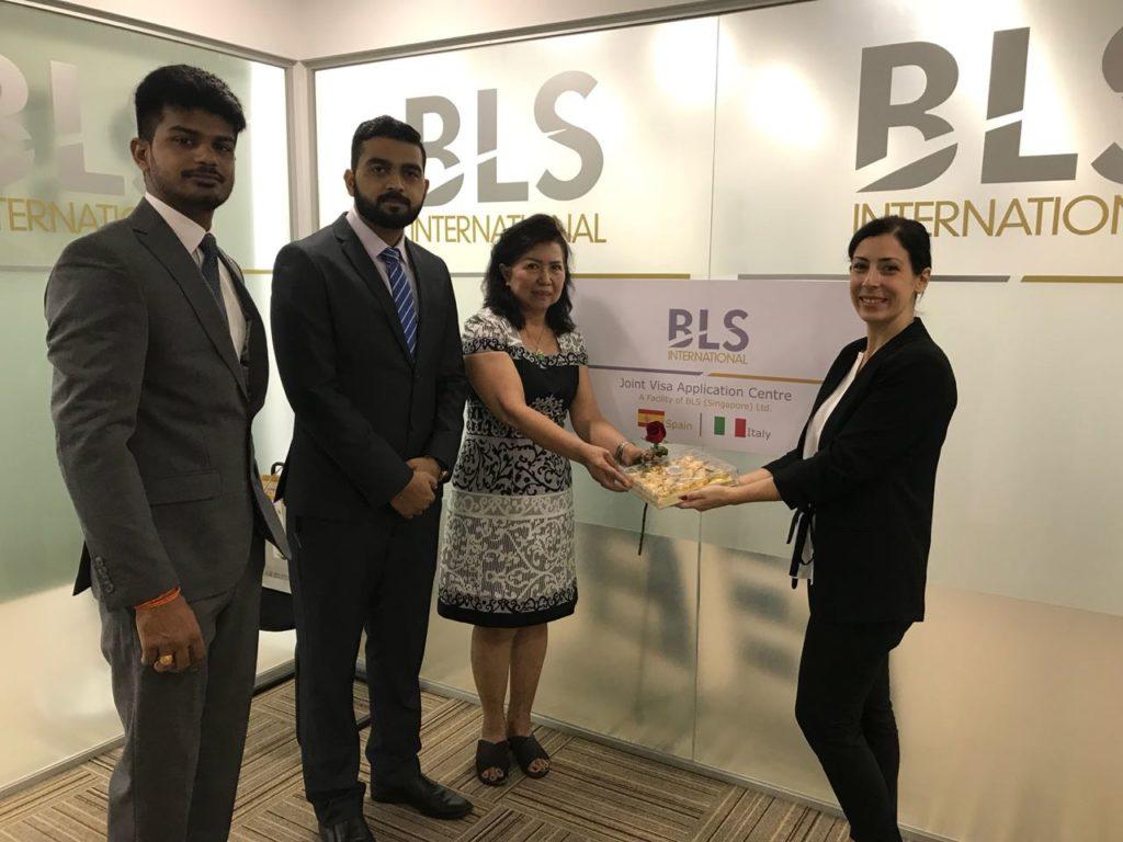 bls international spain visa application center dubai