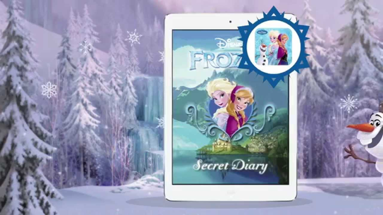 application journal intime reine des neiges