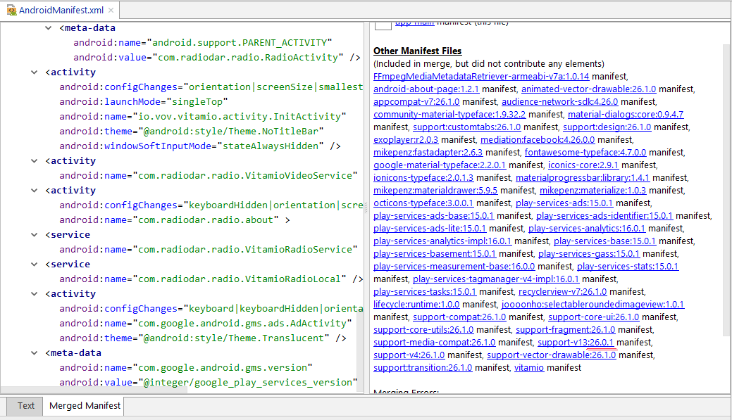 add tools replace android theme to application element at androidmanifest.xml