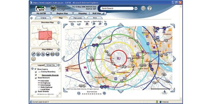 what industries use spatial analysis applications