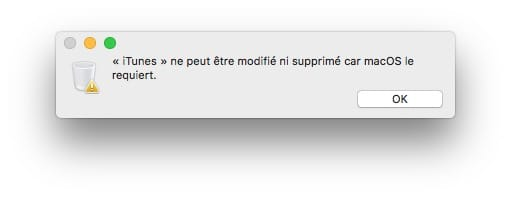 supprimer application itunes sur pc