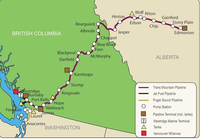 trans mountain pipeline neb application
