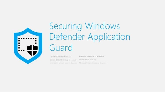 windows defender bloquer des application