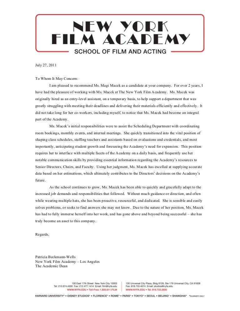 academy of york application form