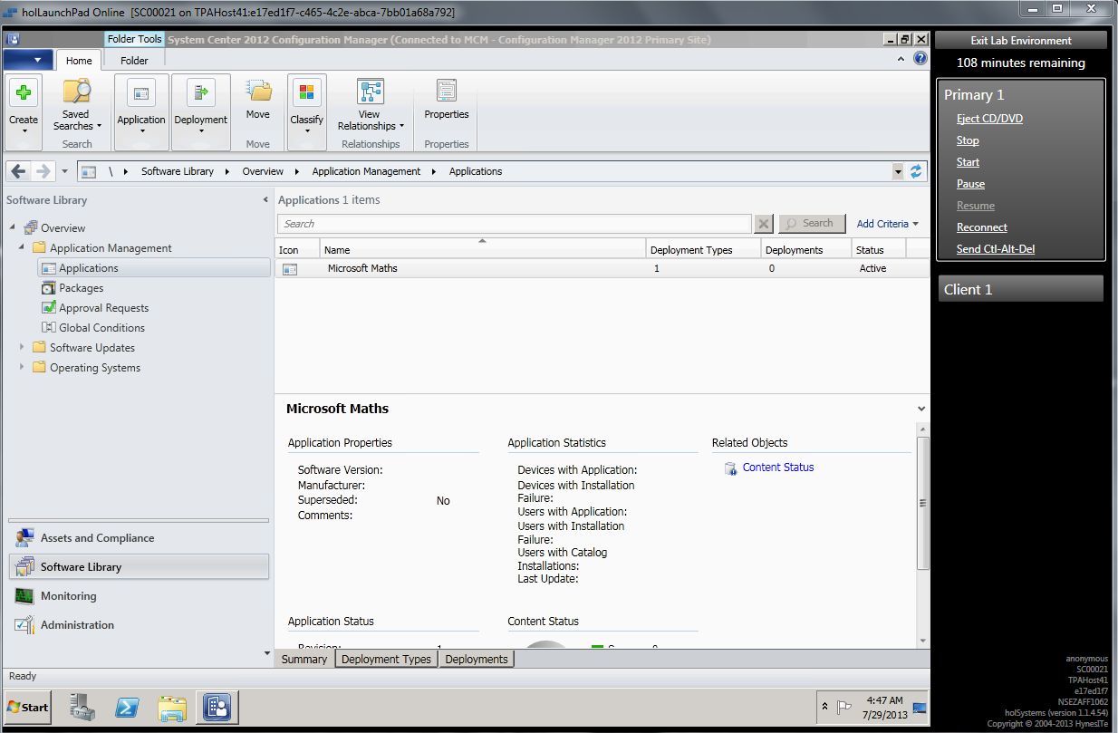 sccm 2012 application deployment scheduling