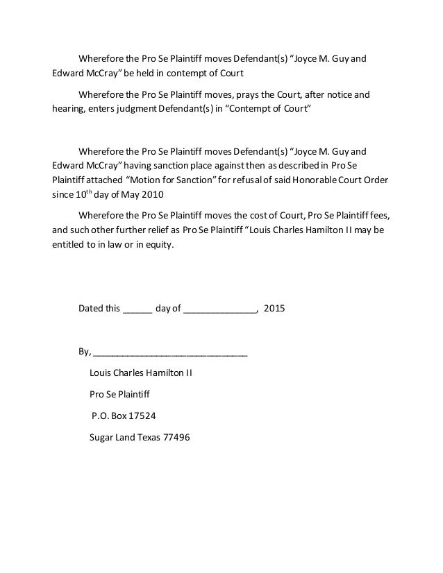 application 1778538 notice of hearing