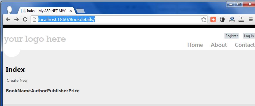 mvc application using vb net
