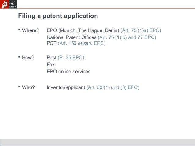 european patent application no 09809138.2