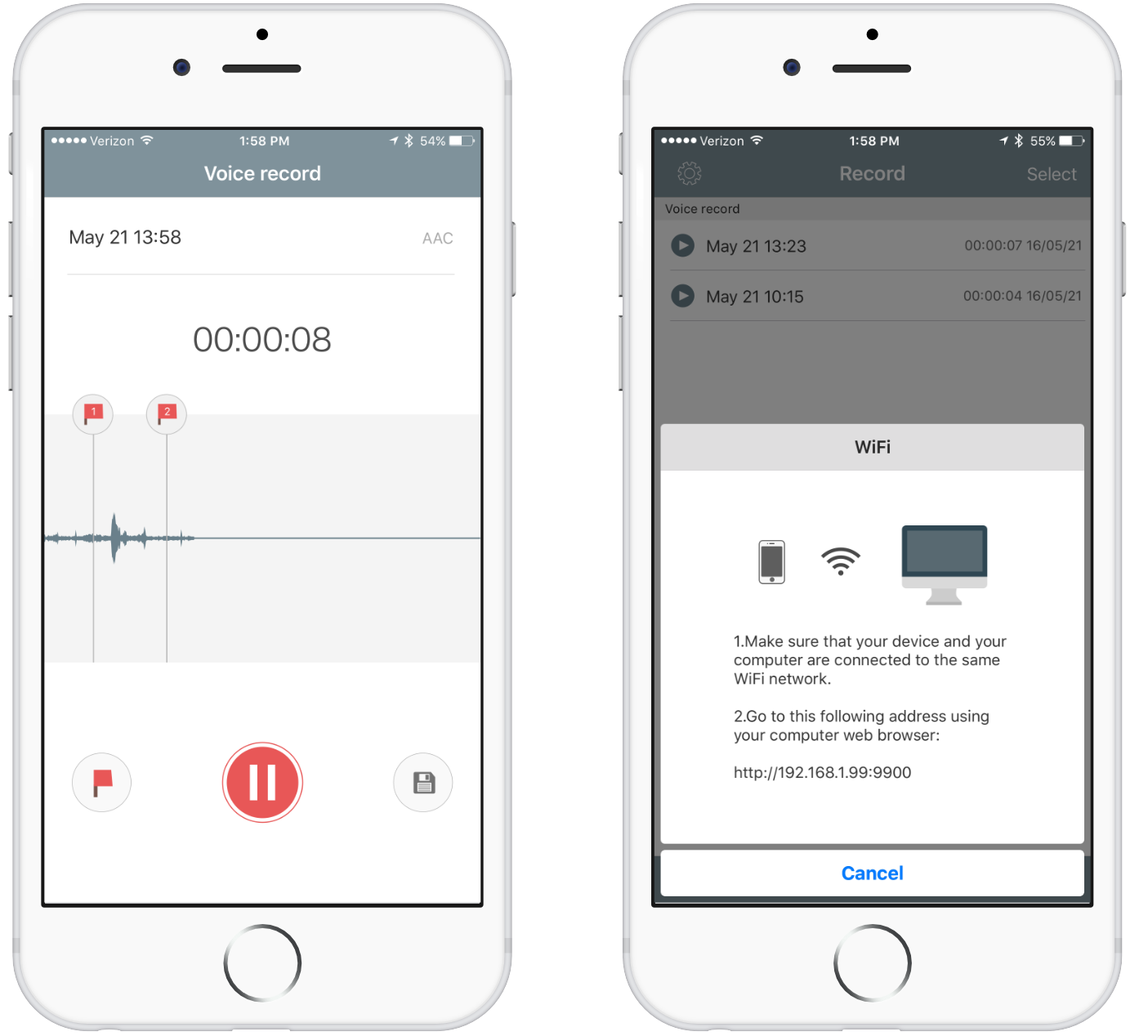 best iphone applications for recording a potcast