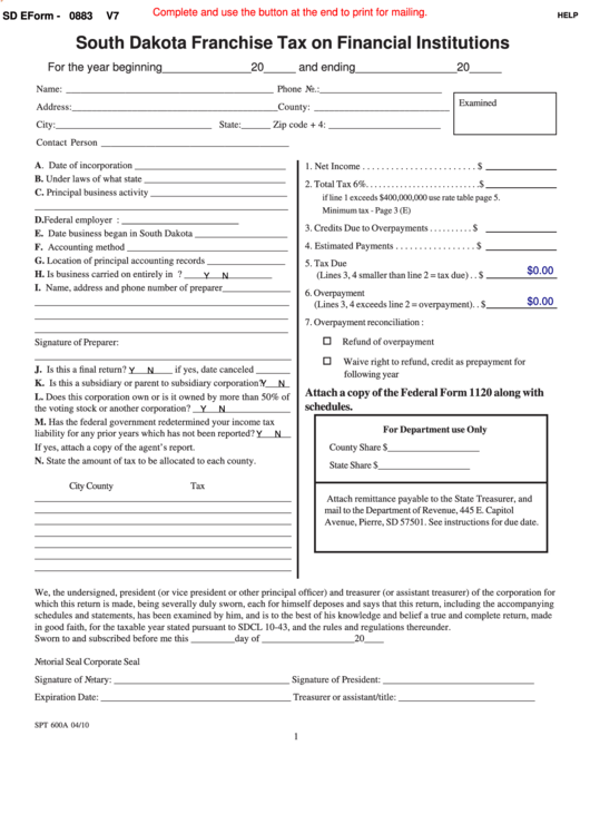 reference financial institutions on application form