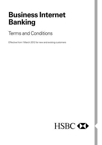 hsbc online business banking application form