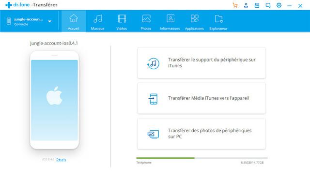 avoir choix application tablettepour fichier
