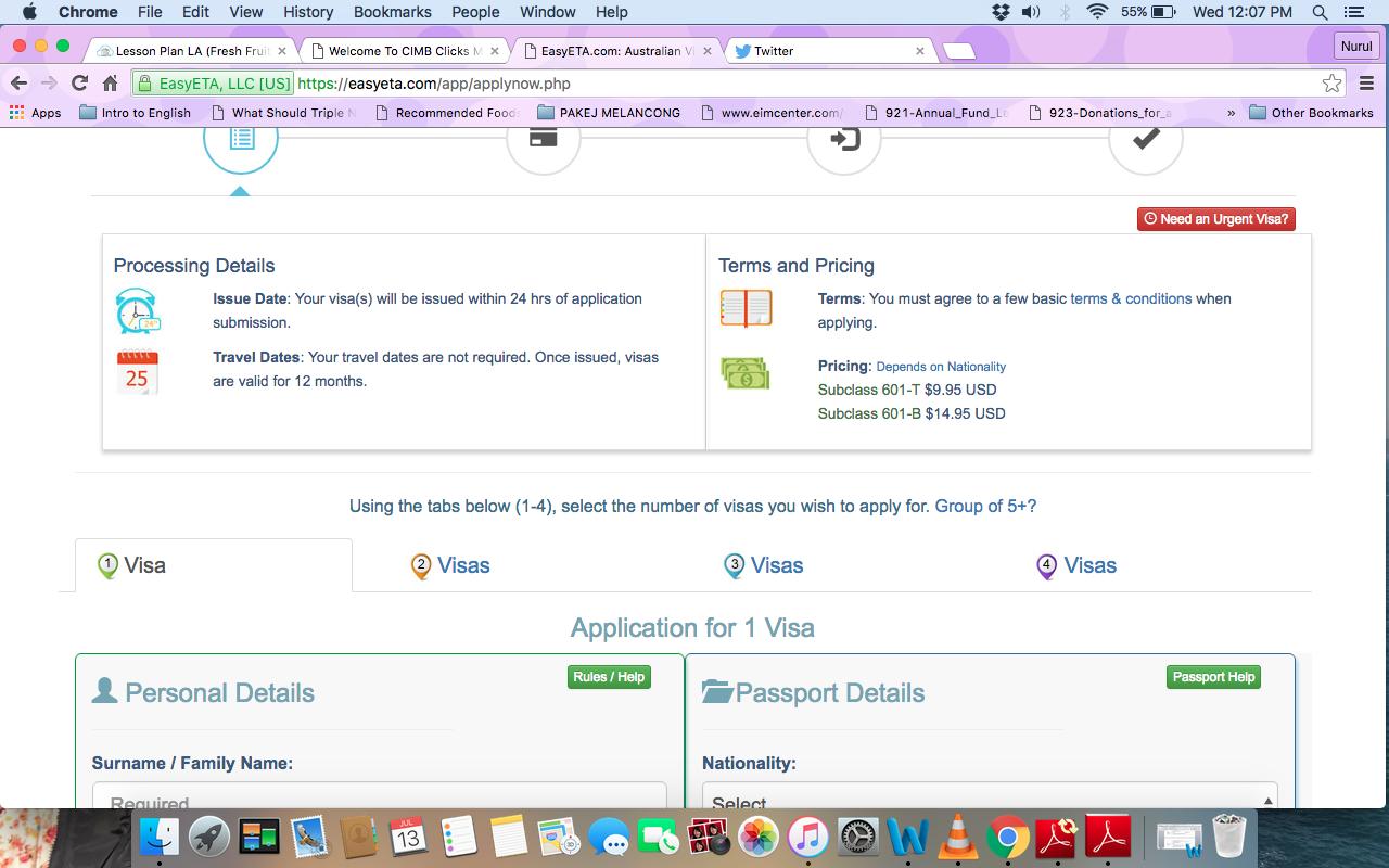 how to fill online application for visit visa 5257
