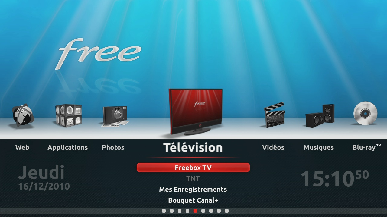 application clavier pour freebox revolution