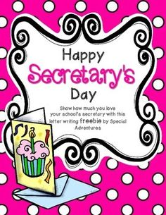 message application for secretaries day