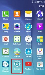 find my mobile samsung application
