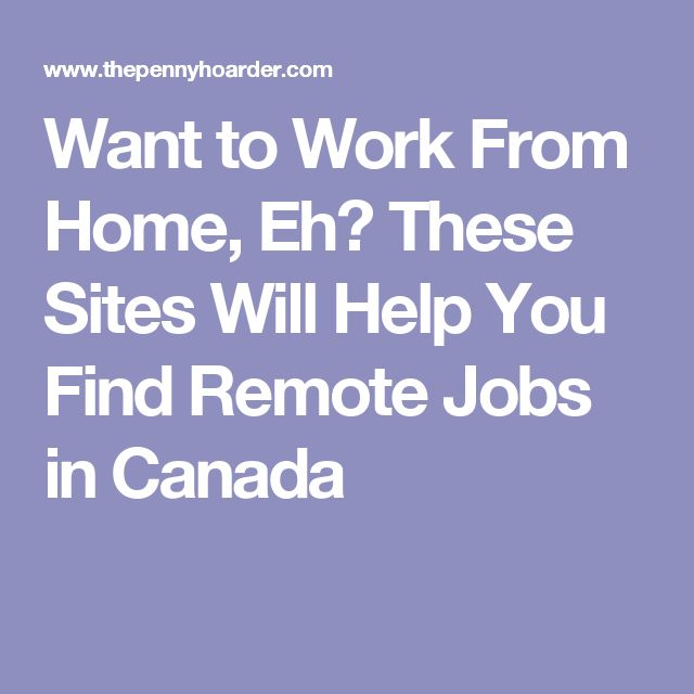 find work in canada application