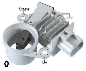 ford 6g alternator voltage applications