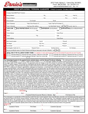 ford canada credit application pdf