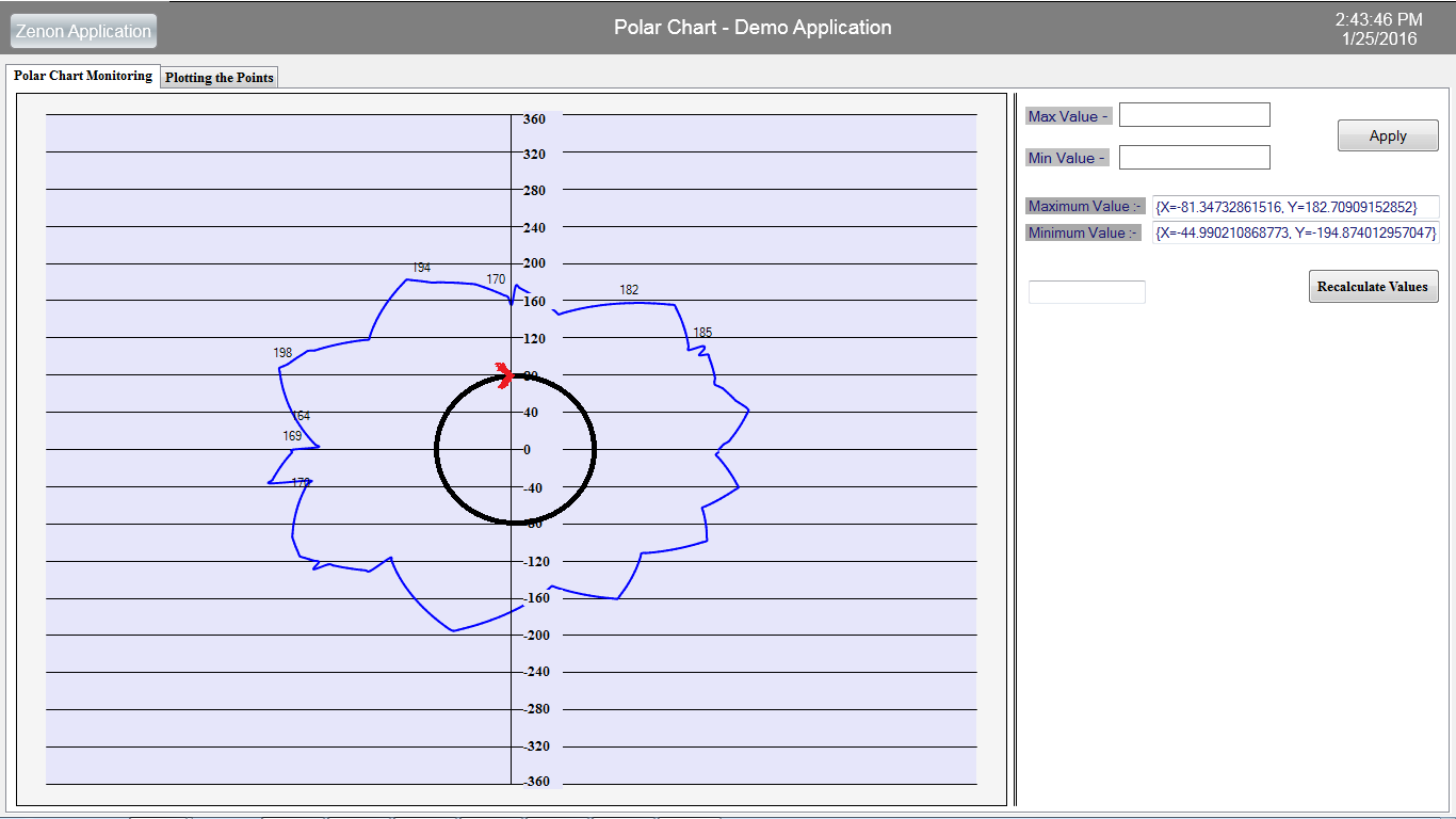 graph in windows form application c