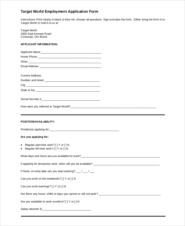 hospice application form employment pdf html