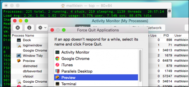 how do i force quit applications on my mac