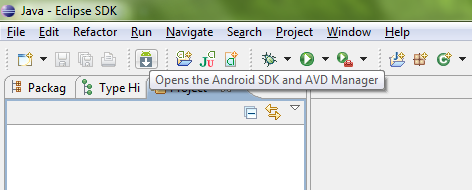 how to change android sdk platform in cordova applications