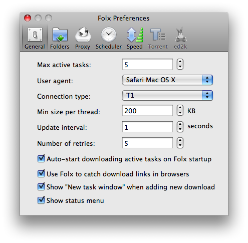 how to connect application proxy mac