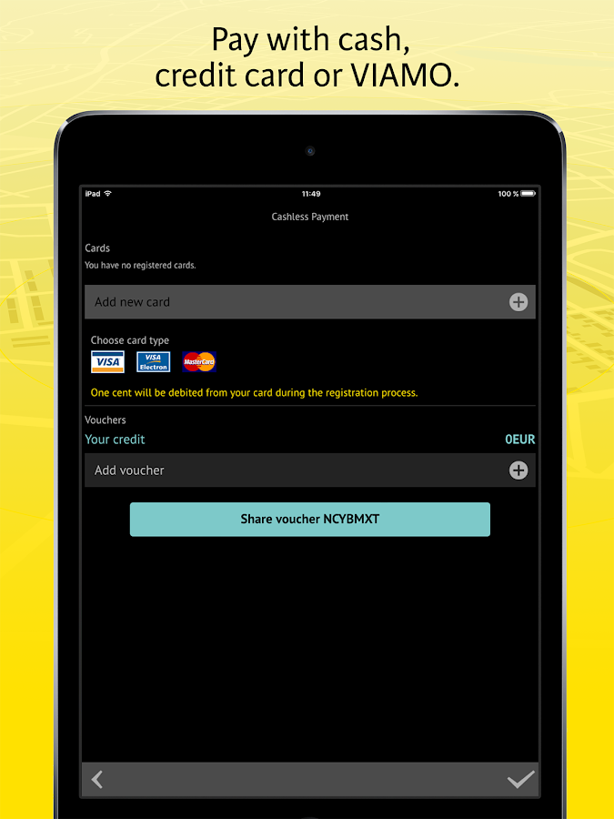 how to install application without credit card