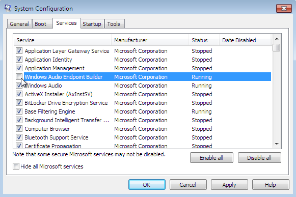 how to remove auto start applications in win10