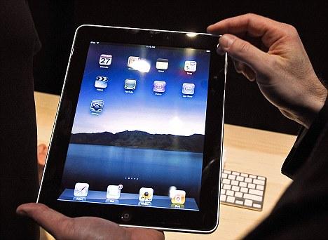i pad air files application