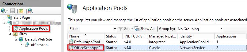 iis max memory application pool
