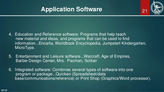 introduction to computers and application software