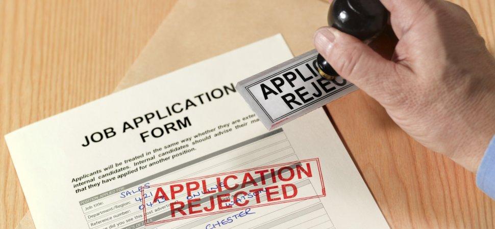 is dui a crime on job application