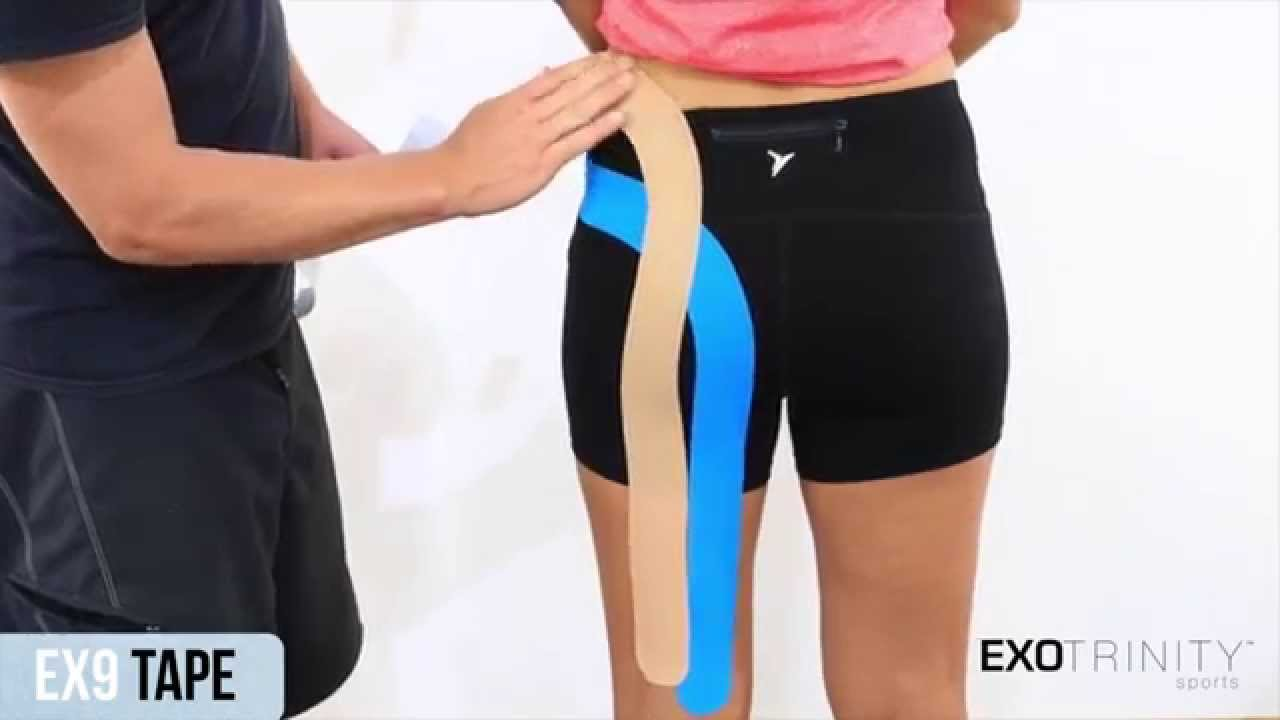 kinesio tape application for knee