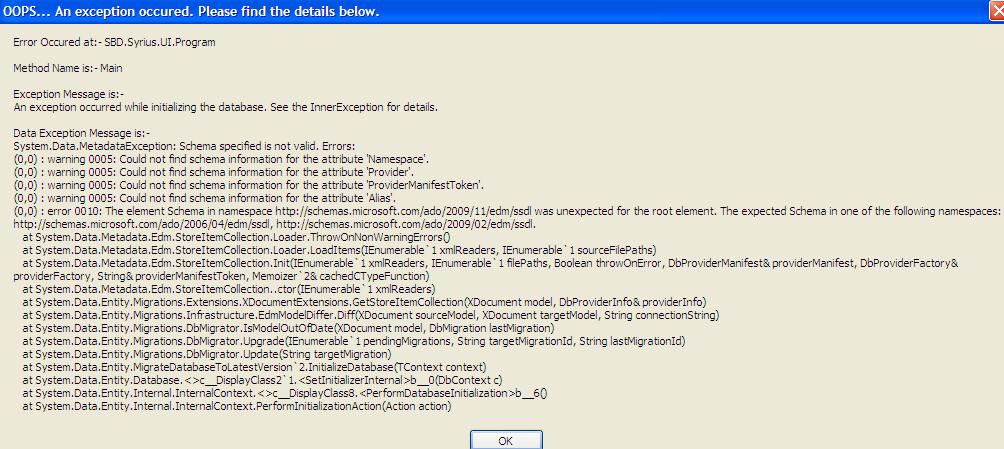 kodi xp not valid application