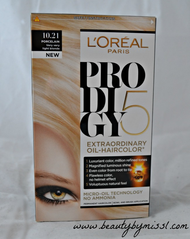 loreal hair color application instructions