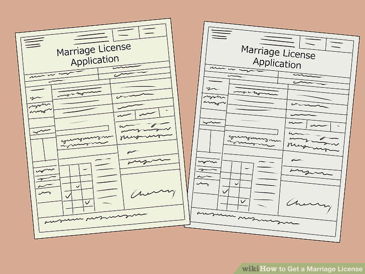 marriage license application intended place of marriage