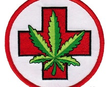 medicinal canabis embroidered appliques for sale in canada