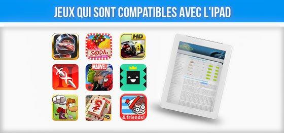 meilleures applications jeux ipad gratuites