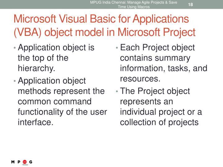 microsoft visual basic pour applications macros