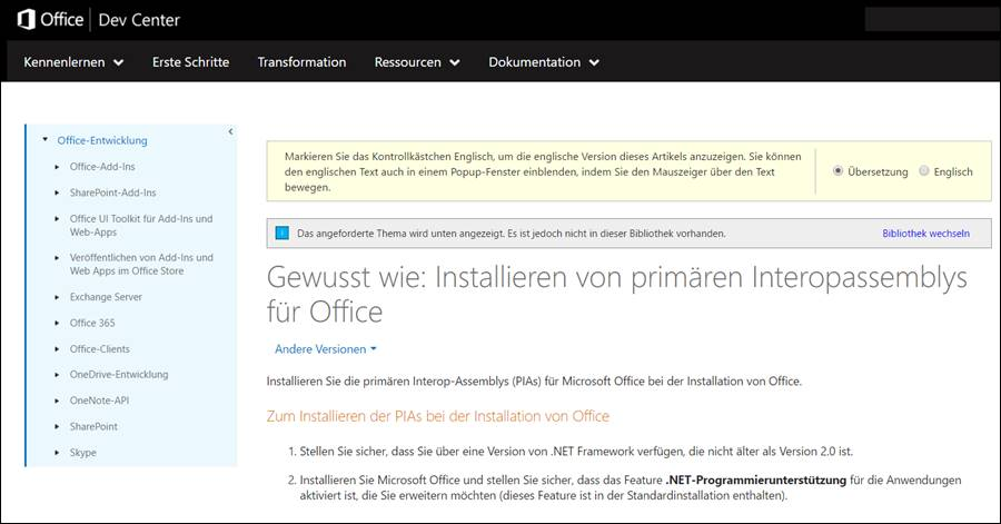 microsoft.office.interop.excel.application namespace